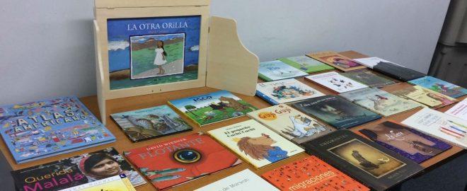 Libros de bibliotecas migrantes