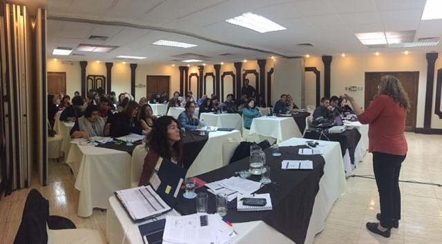 Jornada nacional Ejecutores proyectos reinserción