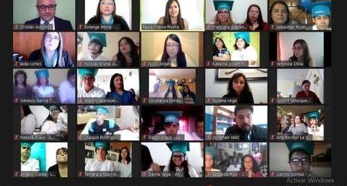 Graduación online Escuelas Hospitalarias